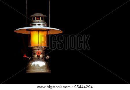 old storm lantern