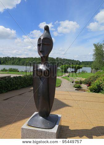 Queen Margrethe Sculpture