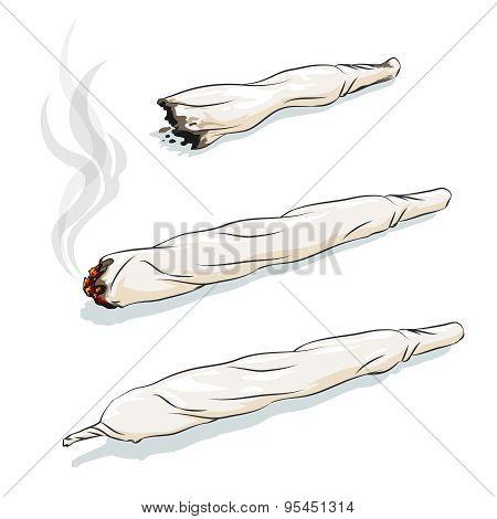Vector joint or spliff