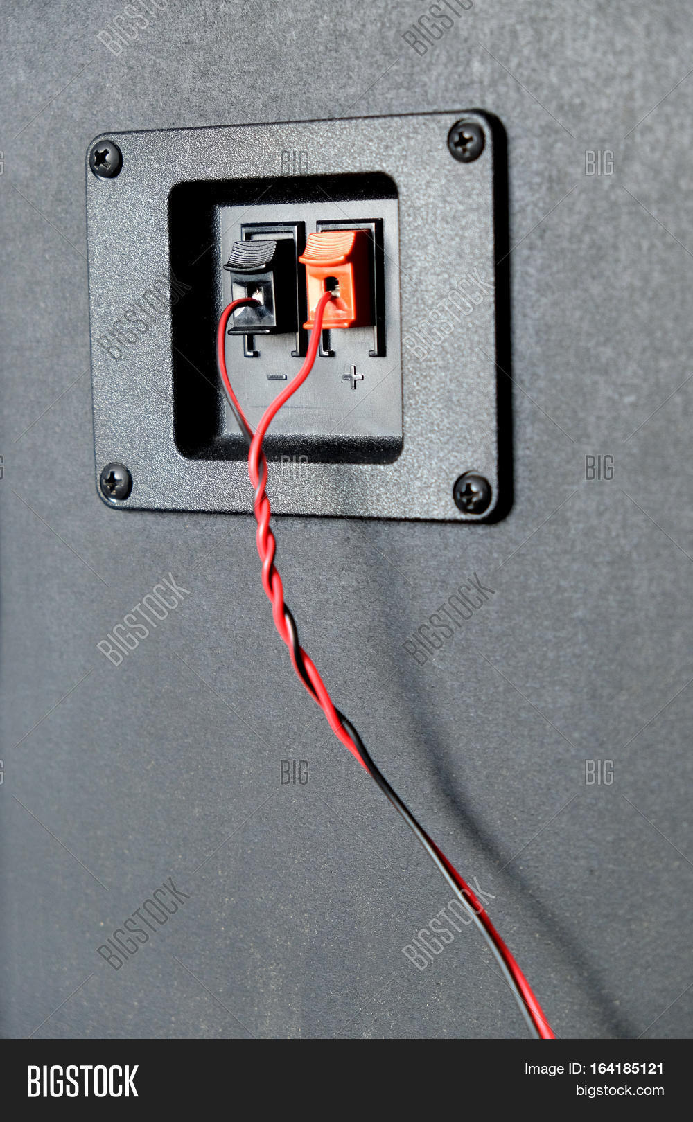 Red Black Twisted Wire Image & Photo (Free Trial) | Bigstock