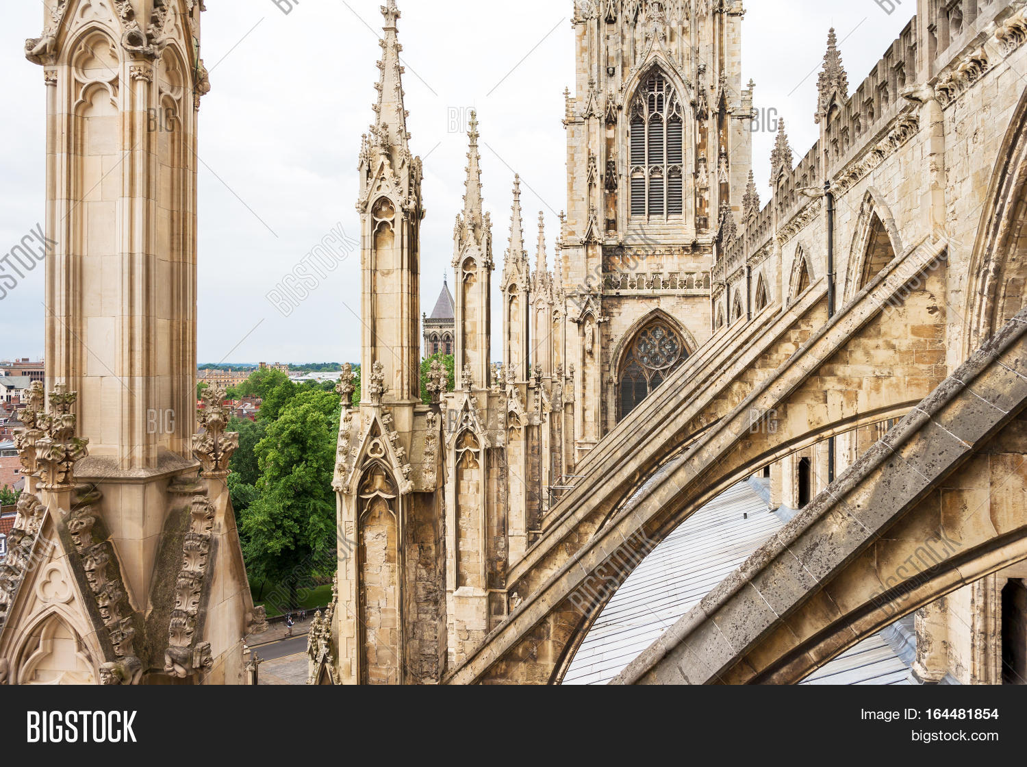 York Minster Is A Cathedral In England One Of The Leading Examples English Gothic