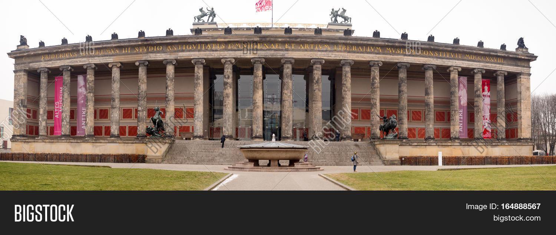 Alte Nationalgalerie Image Photo Free Trial Bigstock