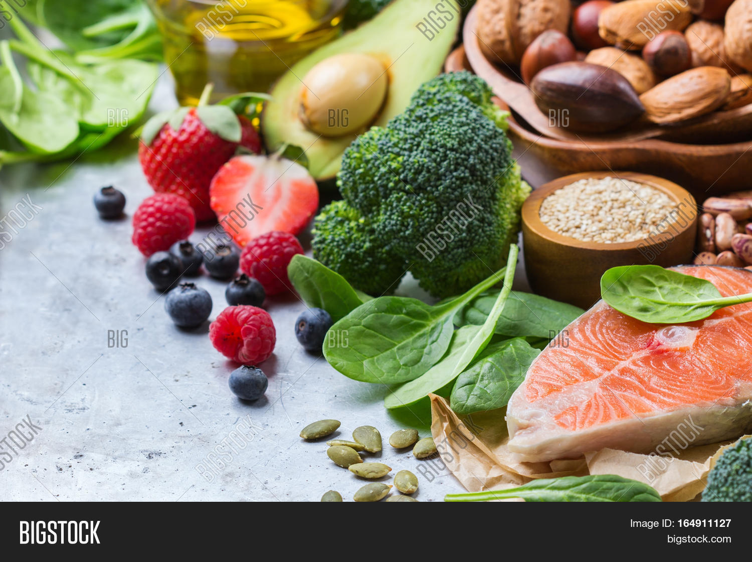 Selection Healthy Food Image & Photo (Free Trial) | Bigstock