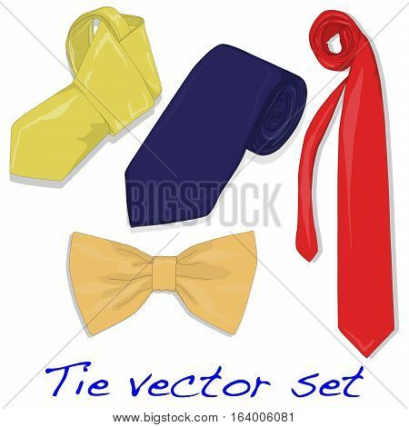 Set of Ties and Bow Tie .