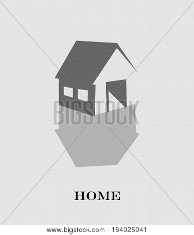 Vector House Real Estate design for logo