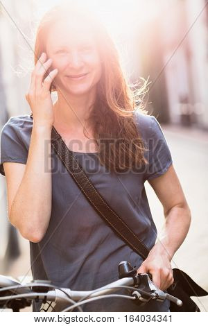 Lifestyle - Woman On A Mobile Phone