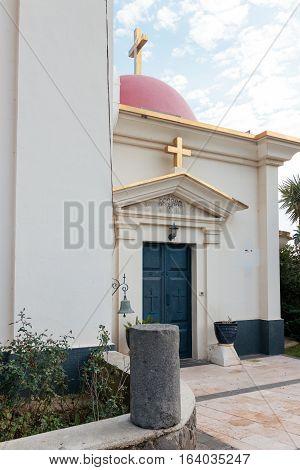 Greek Orthodox monastery of the twelve apostles in Capernaum (Cafarnaum).