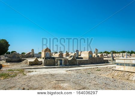 A General View Of An Ancient Burial Site, Bukhara.