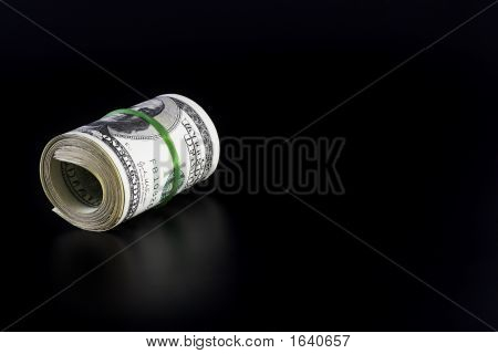 Money Roll With Blank Space