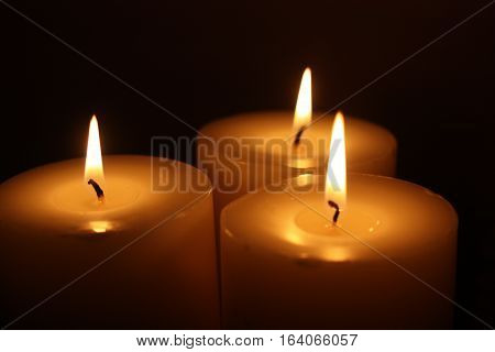 beautiful picture showing the candle flame. candle fire. a picture of a beautiful clarity