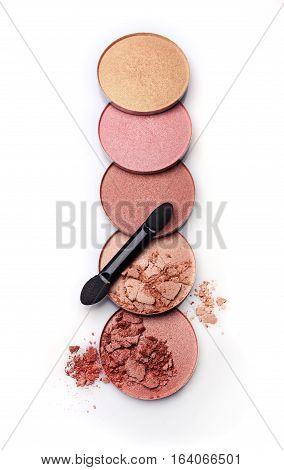 Crushed Eyeshadow Of Skin Color