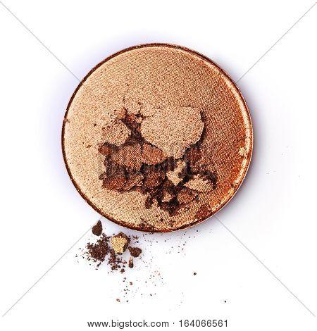 Golden Or Bronze Crushed Eyeshadow