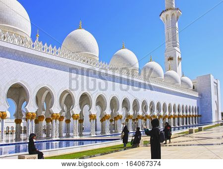Sheikh Zayed Mosque Is Named After Sheikh Zayed Bin Sultan Al Nahyan, April 14, 2014