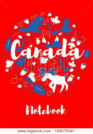 Canada Landmark Travel and Journey Infographic Vector Design. Canada country design template.