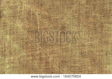 Textile horizontal beige ecru fabric grunge home sackcloth texture background