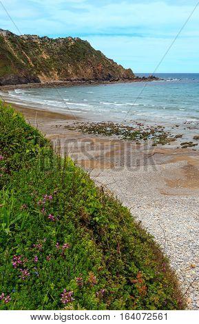 Cadavedo Beach, Asturias, Spain.