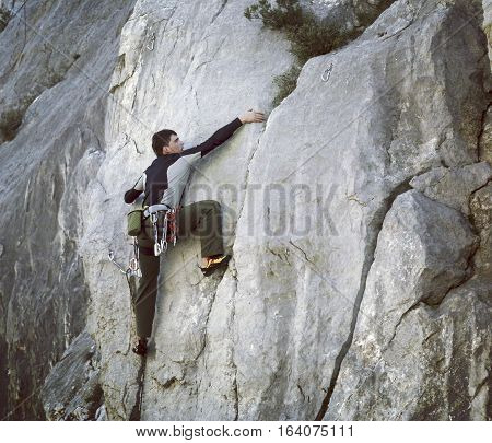Rock Climber.
