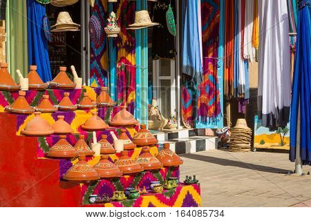 Traditional Small Store In Merzouga