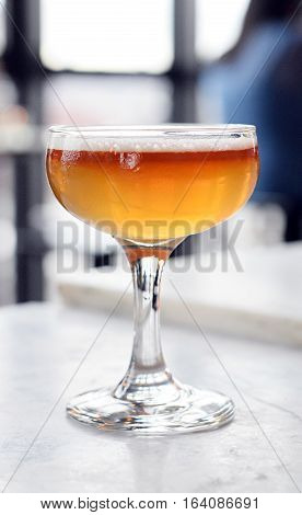 Fancy Champagne Coupe