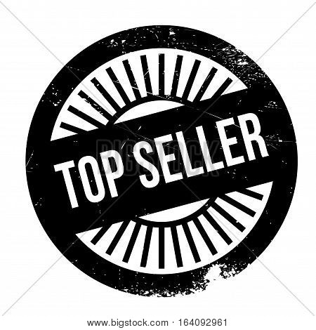 Top seller stamp. Grunge design with dust scratches. Effects can be easily removed for a clean, crisp look. Color is easily changed.