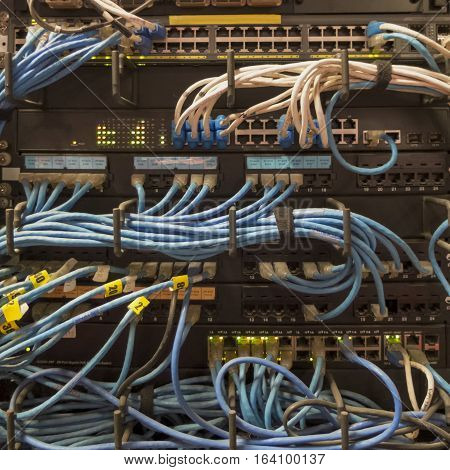 The old LAN Networking in the organization