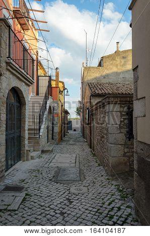 Venosa Casa di Orazio (Basilicata) and alley