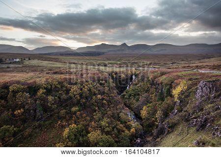 Isle of Skye Waterfall Scotland inner hebrides