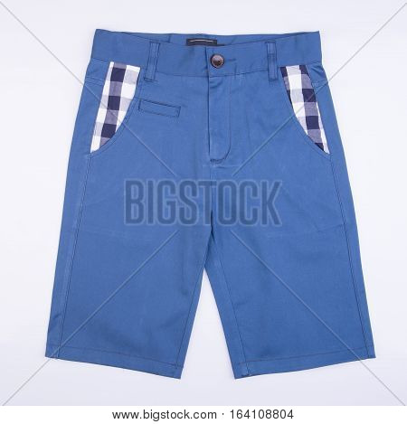 Pant's Or Child's Shorts Pant's On Background.