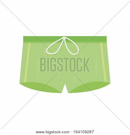 Underwear panties clothes for man vector icon isolated for design. Elegance line panties accessories. Beautiful body coat sensuality collection male textile.