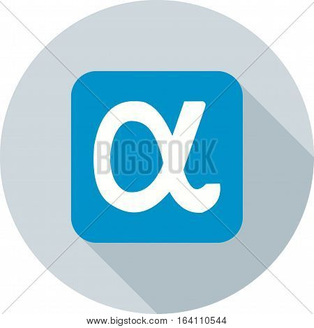 Appnet, messenger, online icon vector image. Can also be used for social media logos. Suitable for mobile apps, web apps and print media.