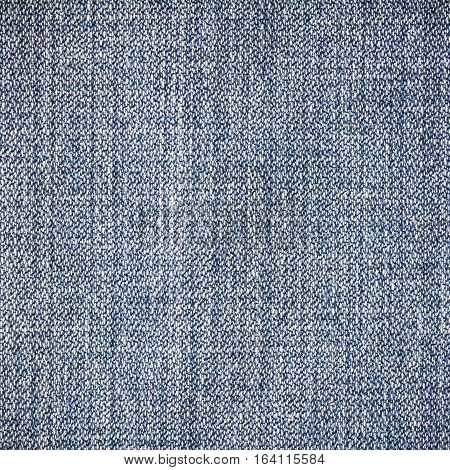 Denim jeans fabric texture background for design with copy space for text or image.