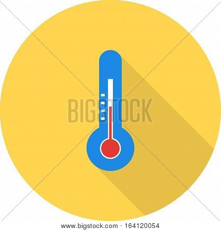 Temperature, weather, check icon vector image. Can also be used for spring. Suitable for mobile apps, web apps and print media.