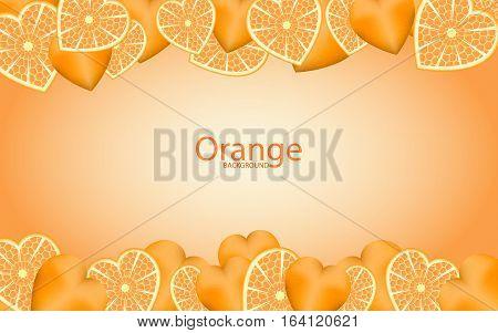 Frame of the plurality of Mandarin heart