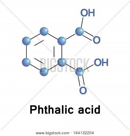 Phthalic acid is an aromatic dicarboxylic acid, it is an isomer of isophthalic acid and terephthalic acid.