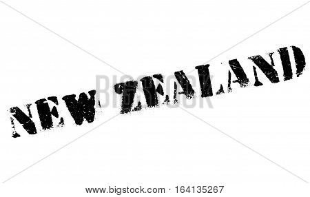 New Zealand stamp. Grunge design with dust scratches. Effects can be easily removed for a clean, crisp look. Color is easily changed.