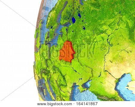 Belarus In Red