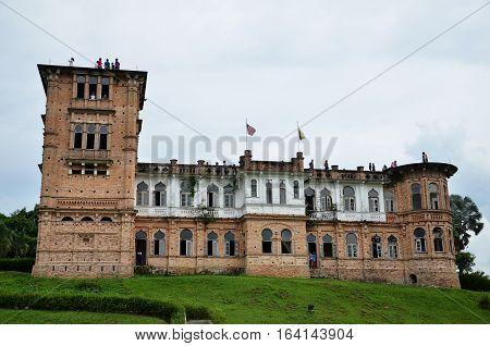 Kellie Castle Located In Batu Gajah, Malaysia