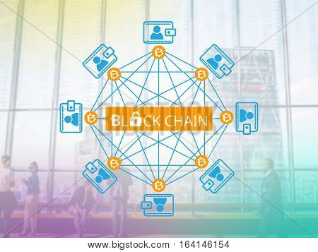 Block chain network a cryptographically secured chain concept