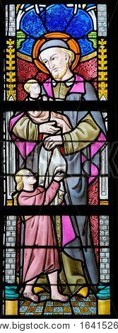 Stained Glass - Saint Vincent De Paul