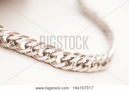 decorative metal chain for clothing and accessories