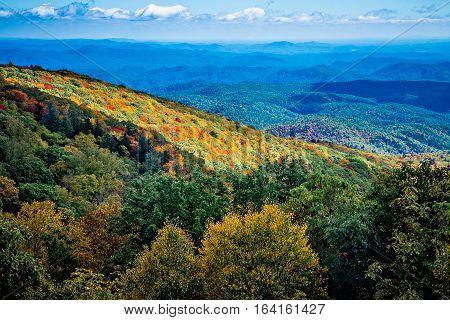 Blue Ridge Mountains and Blue Ridge Parkway