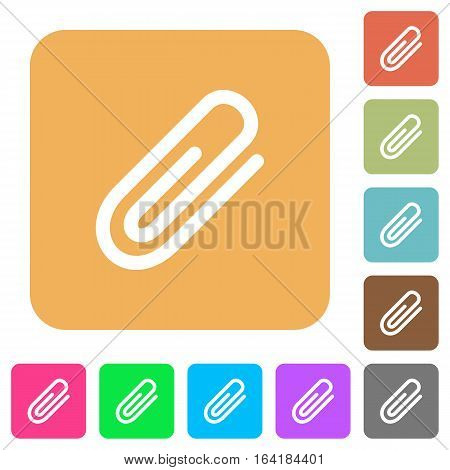 Attachment icons on rounded square vivid color backgrounds.
