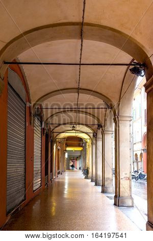 Arches Of Bologna