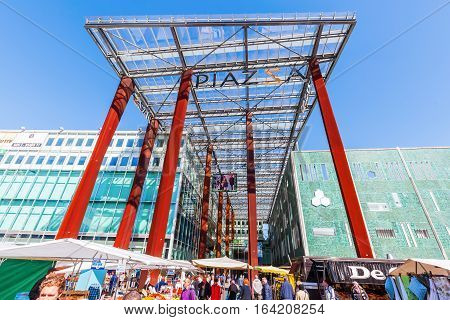 Piazza Shopping Mall In Eindhoven, Netherlands