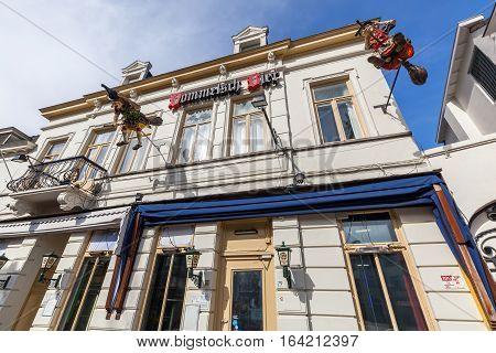 Street Stratumseind In Eindhoven, Netherlands