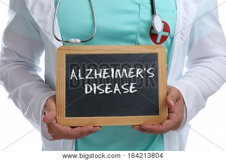 Alzheimers Disease Alzheimer Alzheimer's Ill Illness Healthy Health Young Doctor