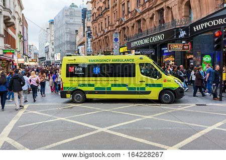 Ambulance In London, United Kingdom
