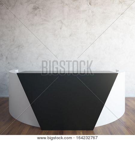 Interior With Reception Desk