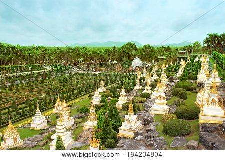 Nong Nooch tropical garden in Pattaya, Thailand