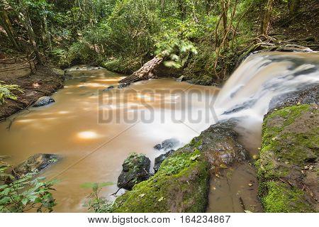 Nairobi River In Karura Forest, Kenya